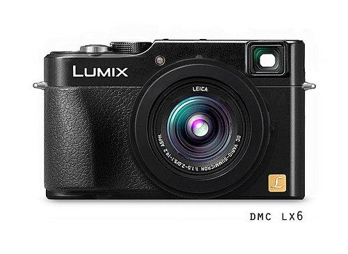 Panasonic Lumix LX6 Dengan Sensor 1 Inci