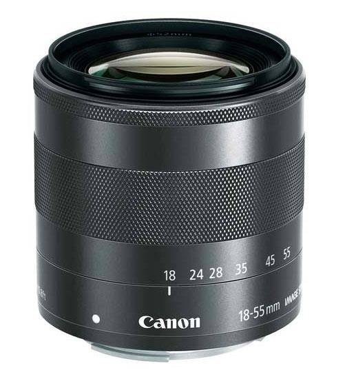 Lensa Canon EOS M 18-55mm
