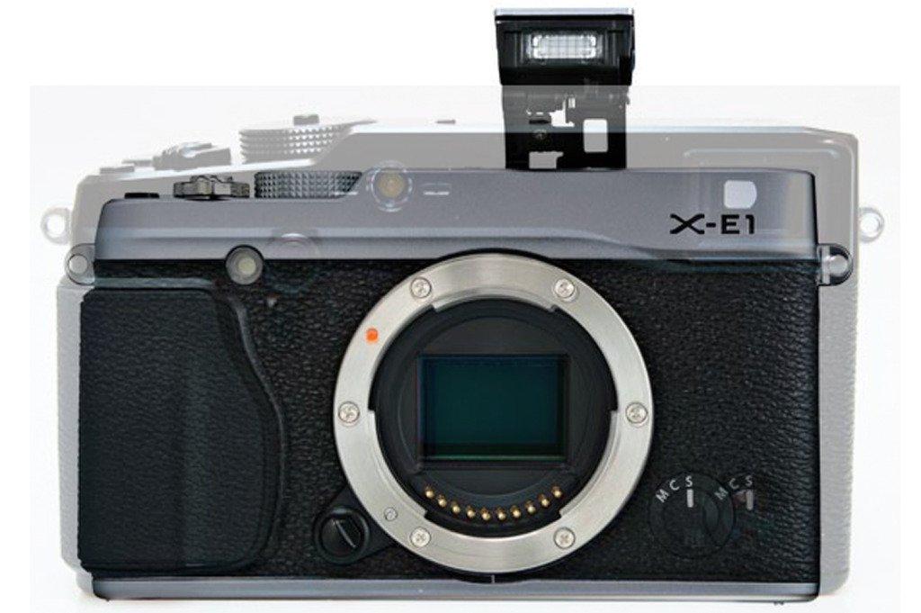 Perbandingan Ukuran Fuji X-E1 dan Fuji X-Pro1