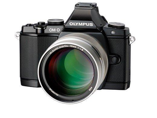 Lensa M Zuiko Digital ED 75mm F1.8