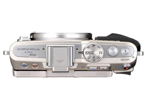 [Pess Release] Kamera Mirrorless Olympus PEN E-PL5 (Tampak Atas)