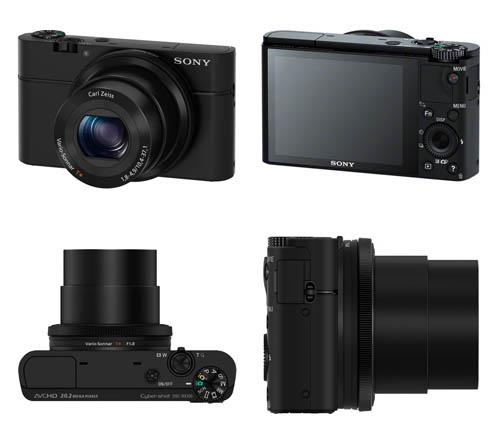 Kamera Sony Terbaru RX100 - Kompak High End