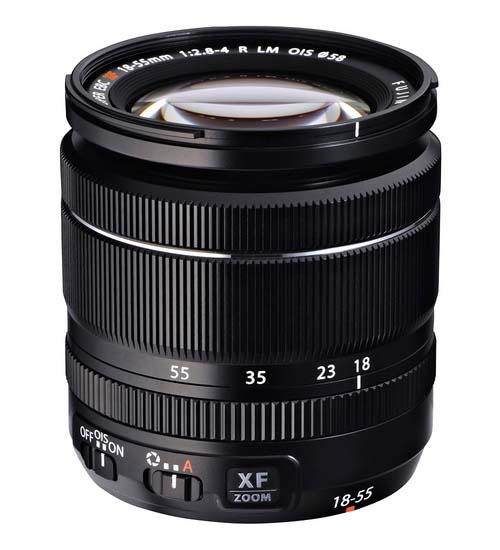 Lensa Fuji XF 18-55mm F2.8-4 OIS R