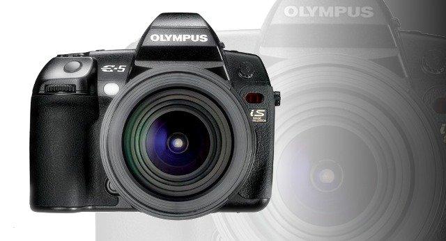 Kamera DSLR Olympus E-5