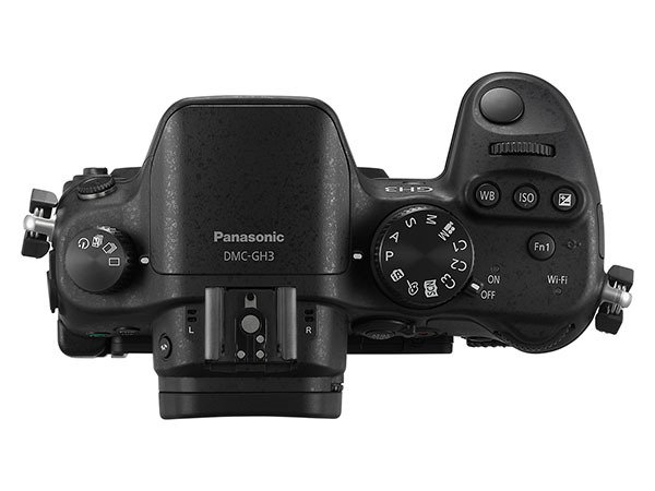 [Press Release] Kamera Panasonic Lumix GH3 (Tampak Atas)