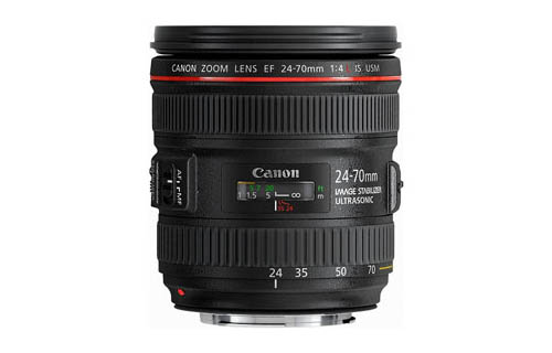 Lensa Canon Terbaru EF 24-70mm f/4L IS