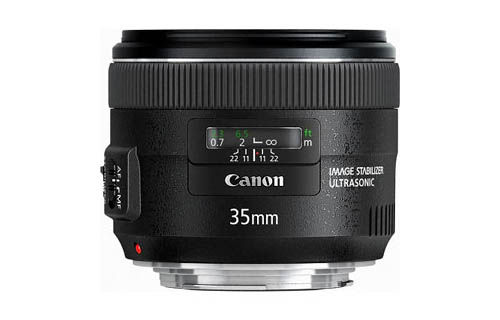 Lensa Canon Terbaru EF 35mm f/2 IS USM