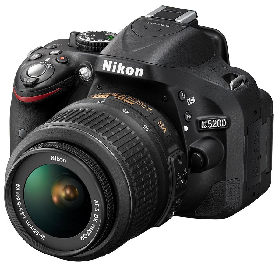 Kamera DSLR Nikon D5200, Image Credit: Nikon Press Release