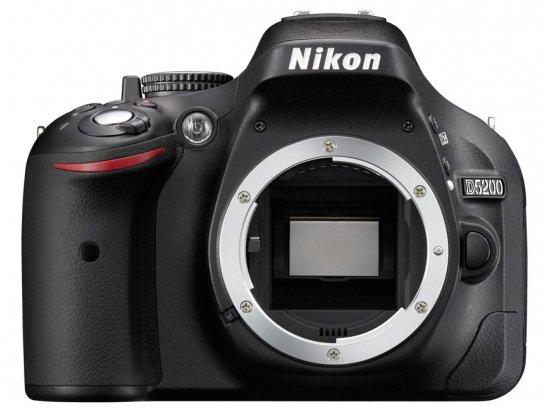 Nikon D5200 Tampak Depan