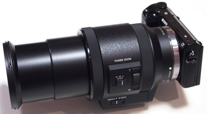 Powerzoom 18-200mm full extended