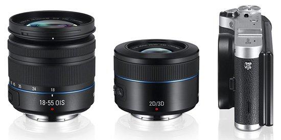 Lensa 18-55mm, 45mm f/1.8 2D/3D, Image Courtesy Photorumors.com