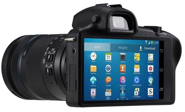 Kamera Samsung Galaxy NX, Image Credit Samsung