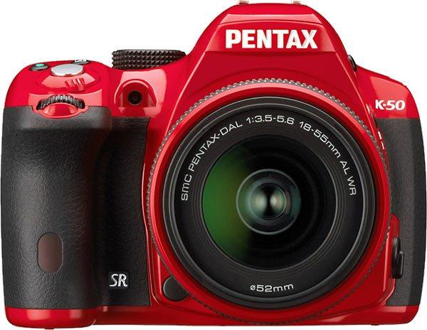Kamera DSLR Pentax K-50, Image Credit : Pentax