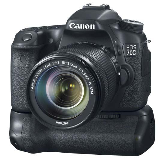 Canon EOS 70D (Dengan baterai grip)