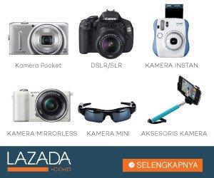 Daftar Kamera di Lazada