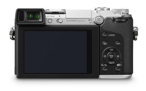 Panasonic Lumix GX7 (Belakang)