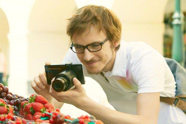 Lens-Camera Sony QX100
