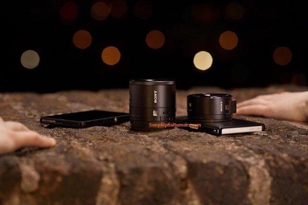 Lens-Camera Sony QX100 dan QX10
