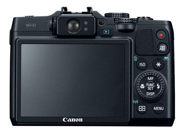 Canon G16 (Tampak Belakang)
