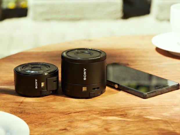 Sony Cyber-shot QX100 & Q10, Image Credit : Sony