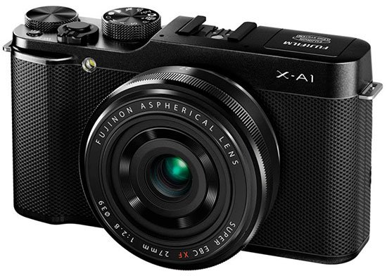 Kamera Fuji X-A1, Image Credit Fujifilm