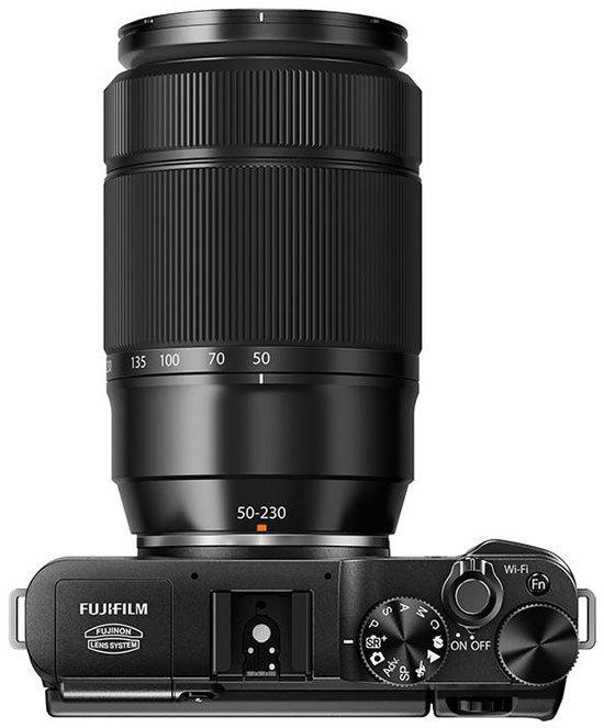 Kamera Fuji X-A1(Atas), Image Credit Fujifilm
