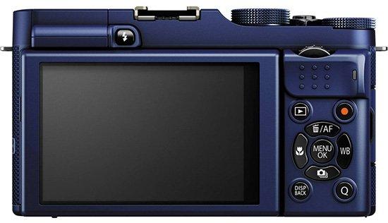 Kamera Fuji X-A1(Belakang), Image Credit Fujifilm