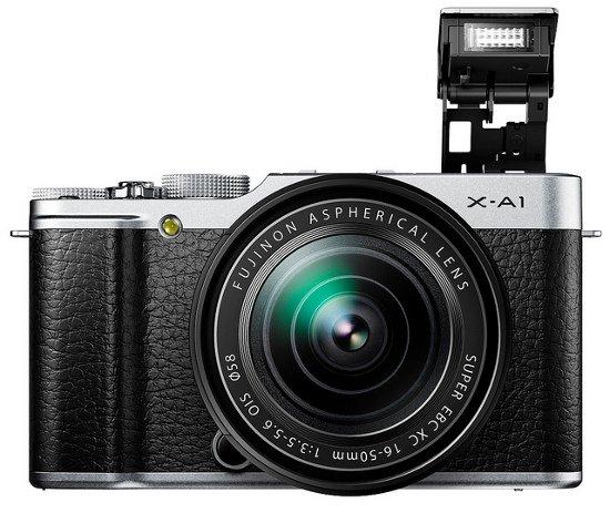Kamera Fuji X-A1(Depan), Image Credit Fujifilm