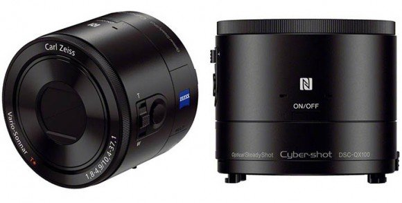 Sony Cyber-shot QX100, Image Credit : Sony