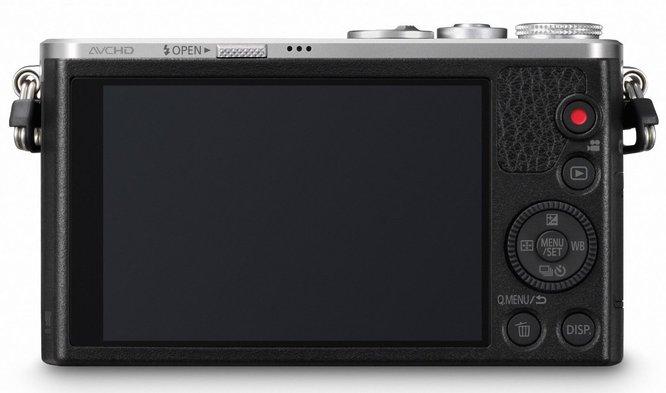 Kamera Panasonic Lumix GM1(Belakang), Image Credit Panasonic