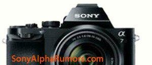 Kamera Mirrorless Full Frame Sony A7, Image Credit : SonyAlphaRumors.com