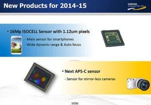 Sensor APS-C Samsung