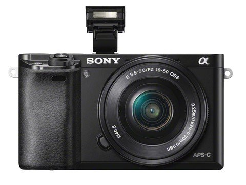 Kamera Sony A6000, Image Credit : Sony