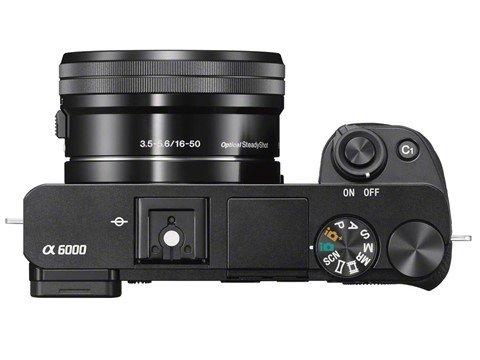 Kamera Sony A6000 (Atas), Image Credit : Sony