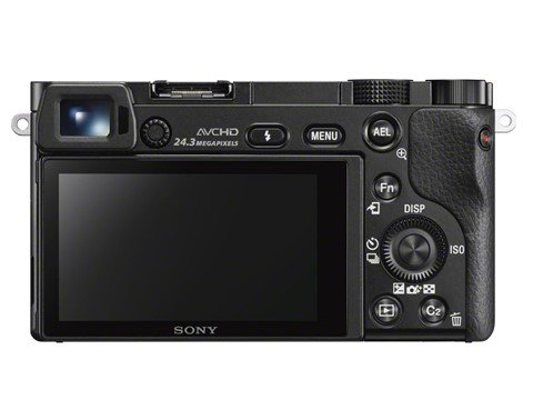 Kamera Sony A6000 (Belakang), Image Credit : Sony