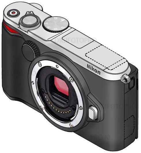 Paten Kamera Mirrorless Nikon 1 V3