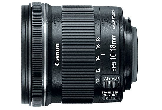 Lensa Canon EF-S 10-18mm f/4.5-5.6 IS STM, Image Credit : Canon