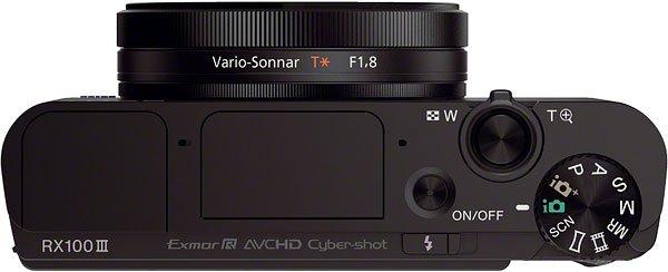 Kamera Sony RX100 III (Atas), Image Credit : Sony