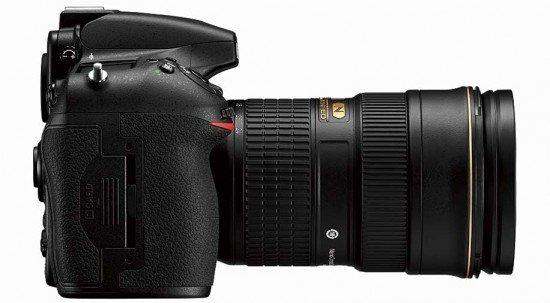Nikon D810 (Side), Image Credit : Nikon