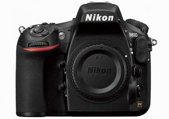 Nikon D810 (Front), Image Credit : Nikon