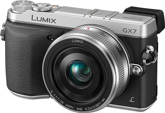 Lumix GX7, Image Credit : Panasonic