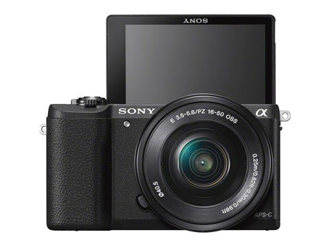 Sony A5100 mode selfie, Image Credit : Sony