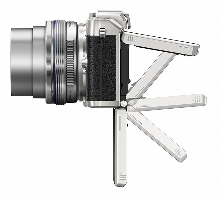 Kamera Olympus E-PL7 (Samping), Image Credit : Olympus