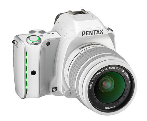 Pentax K-S1 camera white