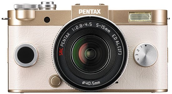 Pentax Q-S1 terdapat 40 warna, Image Credit : Ricoh