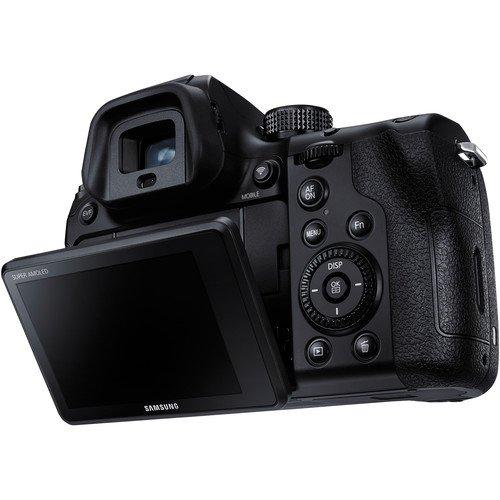 Kamera Samsung NX1 (Belakang), Image Credit : Samsung