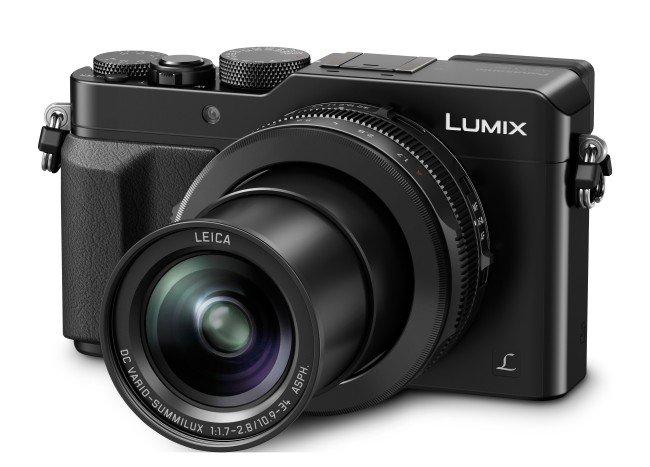 Kamera Panasonic LX100 (lensa extend), Image Credit : Panasonic