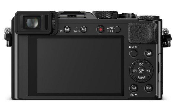 Kamera Panasonic LX100 (Belakang), Image Credit : Panasonic