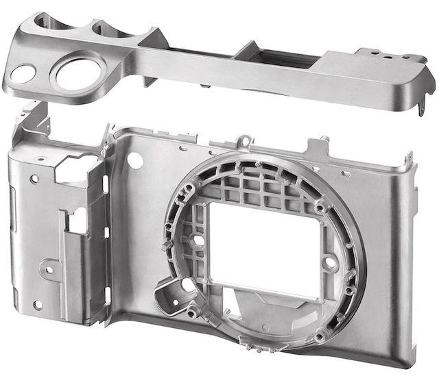 Rangka Kamera Mirrorless Sony, Image Credit : Sony