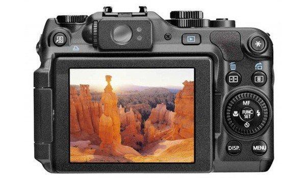 Canon Powershot G12 (Belakang)